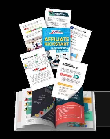 Ebook affiliate yang boleh dijadikan panduan untuk berjaya dalam pemasaran affiliate.