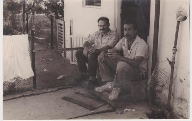1663 יום החברה 1968 שמעון יעקובי ודוד מאור