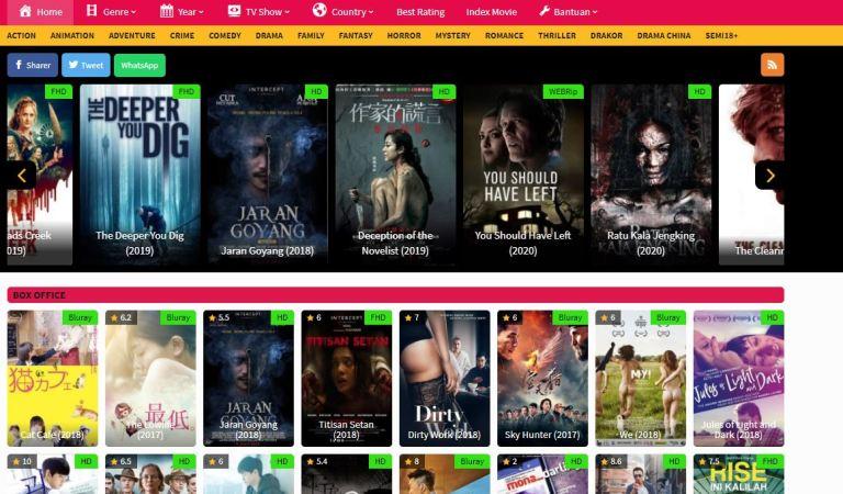 Alamat Baru dan Link Alternatif JuraganFilm21 Terupdate