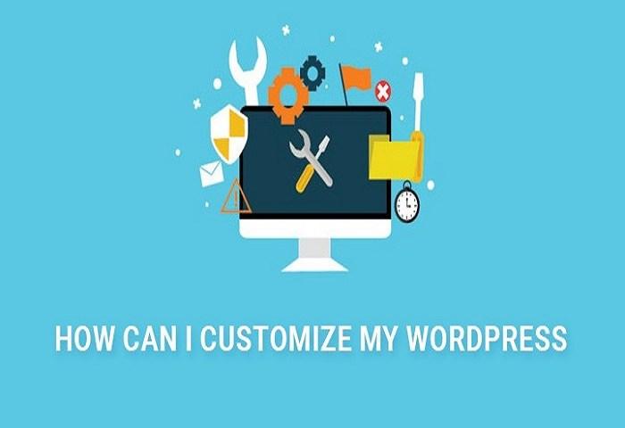 customize WordPress image