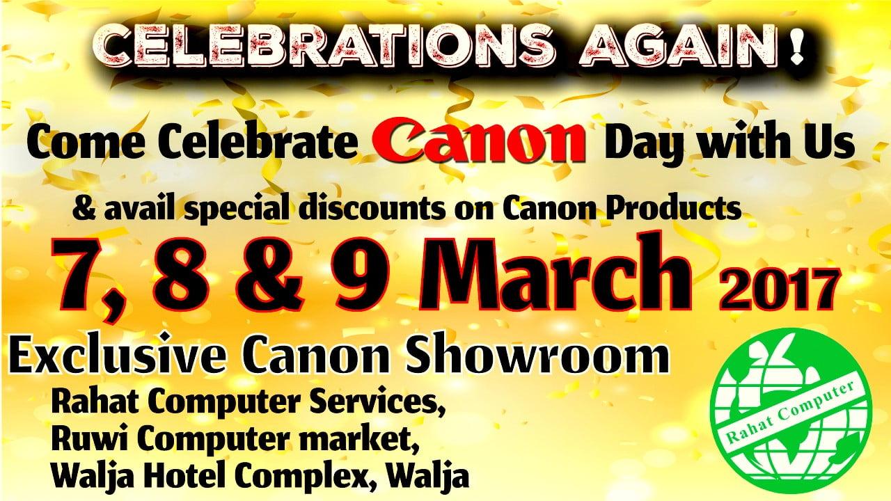 Canon Day Celebration 2017