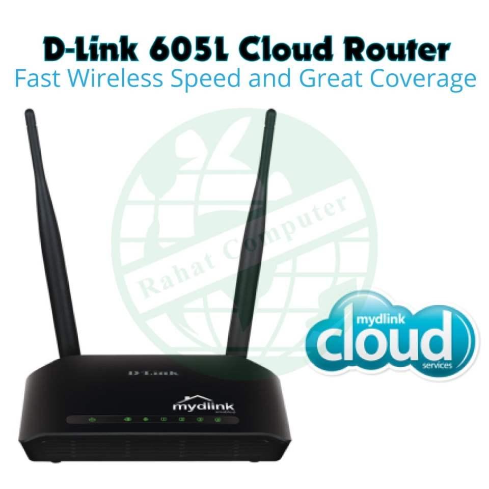 D-Link-605L-Cloud-Router
