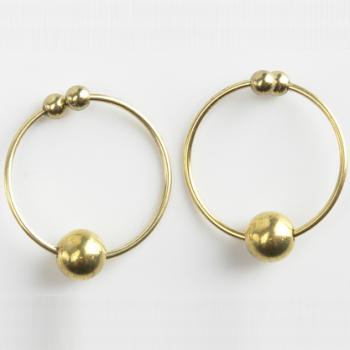 Fetish Fantasy Series Nipple Bull Rings Gold