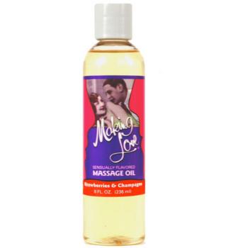 Making Love Massage Oil 236ml (8oz) -Strawberry