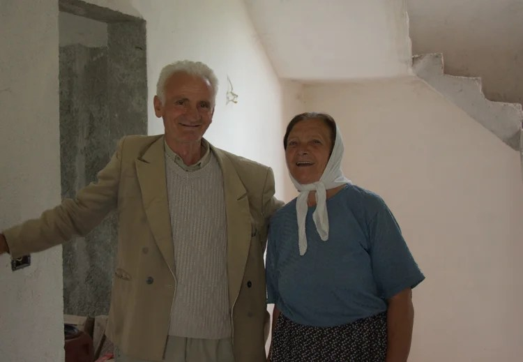 das ältere Ehepaar