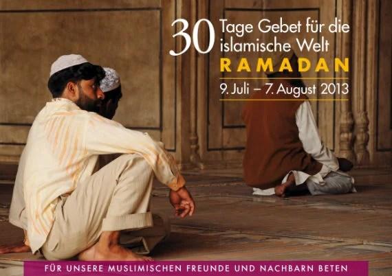 Meine Empfehlung: 30 Tage Gebet für die islamische Welt