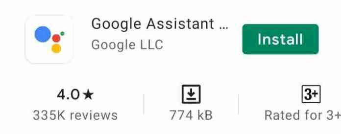 Downoad and Install Google Assistant
