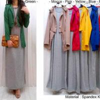 Blazer MNG + Inner Maxi Dress