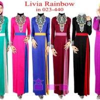 Livia Rainbow Maxxi Dress