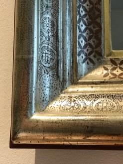Renaissancerahmen mit Punsier und Radierornament