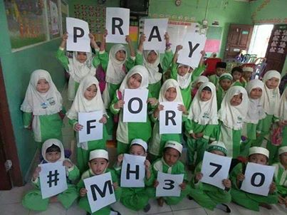 pasti pray4mh370