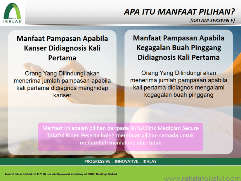 IKHLAS Mediplan (Medical Card) Takaful (15)