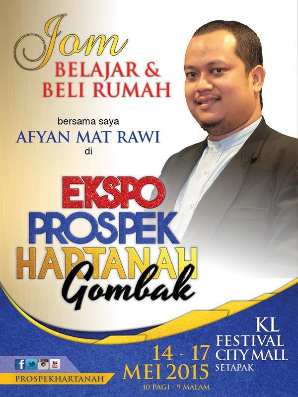 Poster Ekspo Hartanah Gombak 2