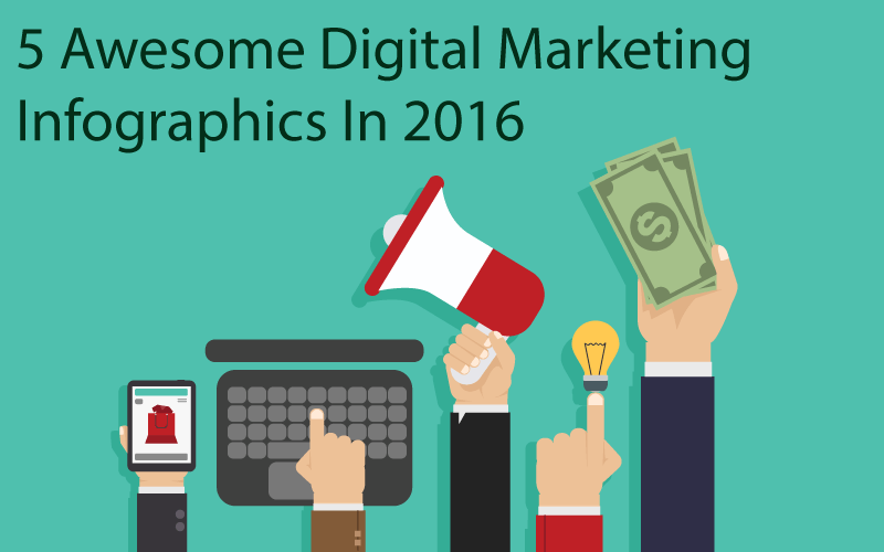 5 Awesome Infographics About Digital Marketing in 2016