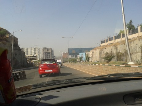 Hi tech city - a view from my cab