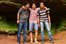 With Rohan & Amit