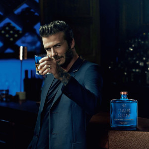 Marketing Press picture of David Beckham with Haid Club