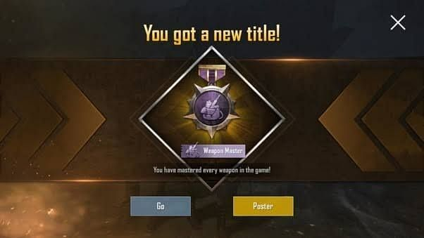 How to Get Weapon Master Tittle In PUBG Mobile Lite