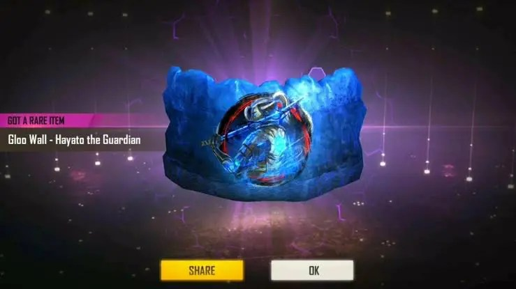 How Get Free Gloo Wall Skins In Free fire