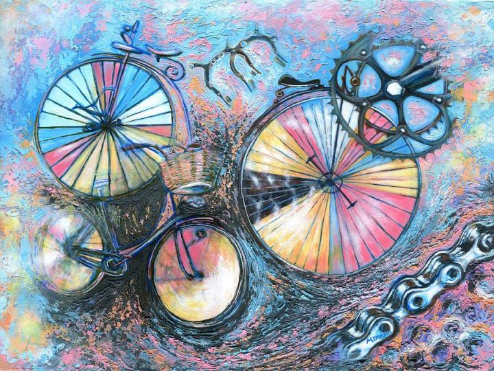 abstract-bicycle-painting-marion-yeo