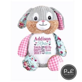 Cubbies Personalised Embroidery Teddies