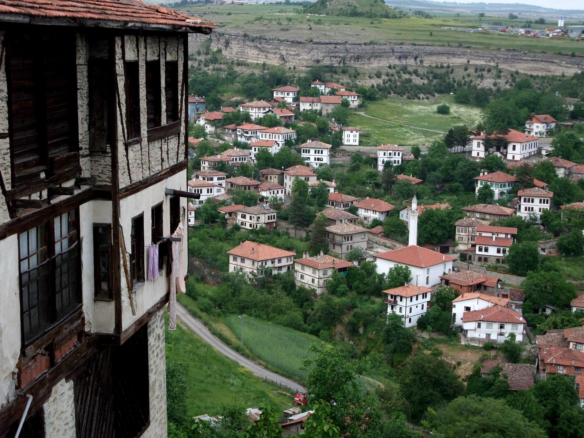 Blick von Kıranköyü auf die Altstadt