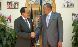 Kenya's Kenyatta and Somalia's Farmaajo