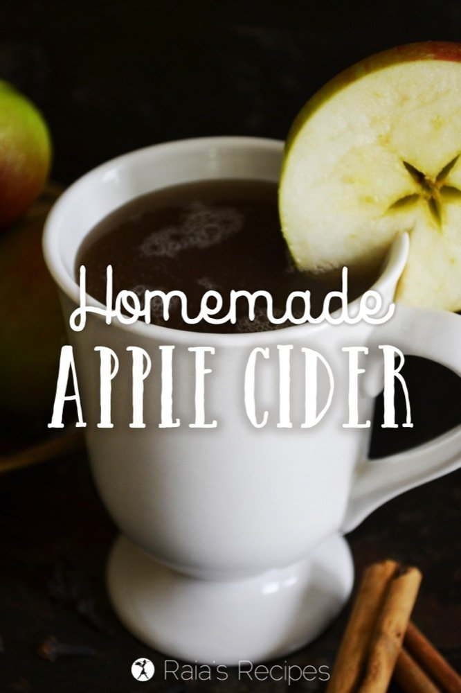 Easy, Homemade Apple Cider | RaiasRecipes.com