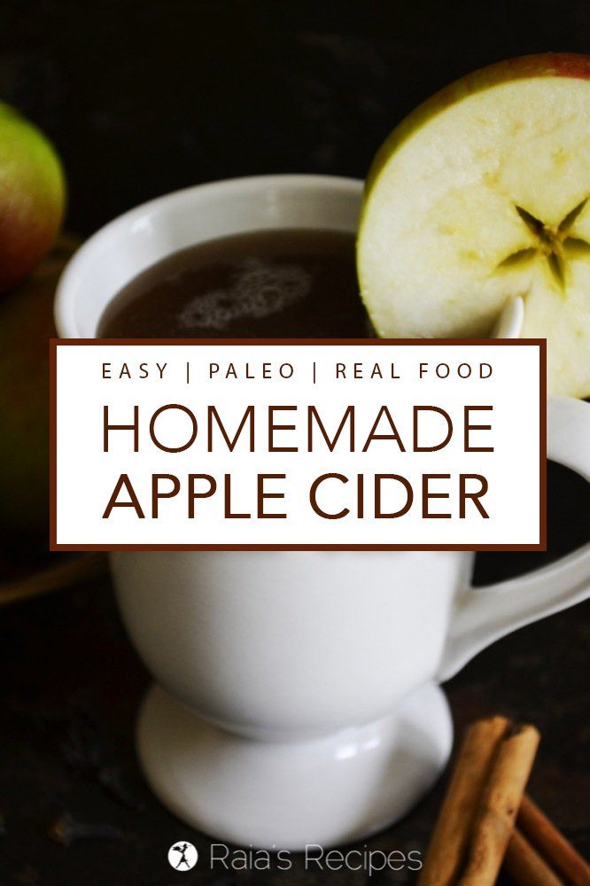This easy, Homemade Apple Cider is just the thing to warm you up on a brisk morning, or the perfect addition to any chilly evening.