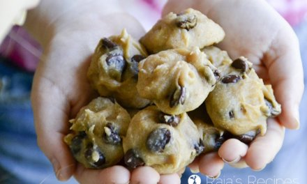 """""""Baby"""" Chocolate Chip Nut Butter Cookies"""