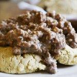 Gluten-Free Biscuits & Gravy