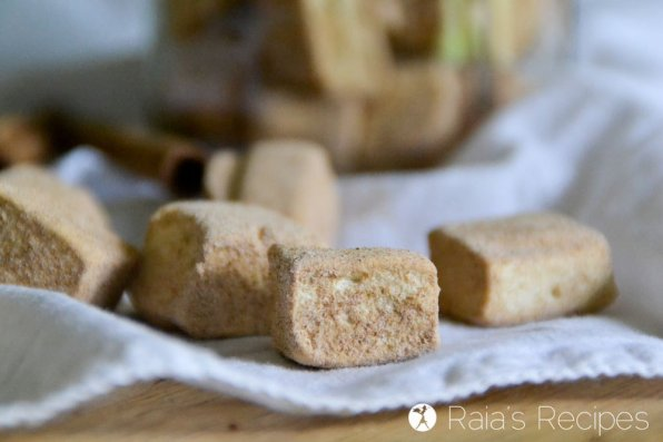 Real-Food Mini Cinnamon Maple Marshmallows
