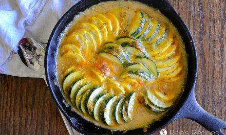Scalloped Zucchini & Crookneck Squash