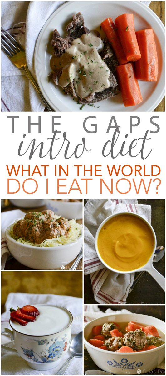 On the GAPS Intro Diet? Wondering what in the world you're going to eat now? I've got you covered, friend. #gapsdiet #health #guthealth #healing