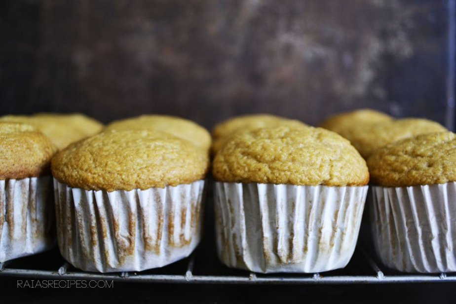 Orange Cupcakes | gluten-free, dairy-free, refined sugar-free |RaiasRecipes.com