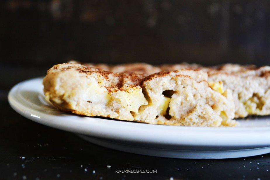 Cinnamon Apple Scones | gluten-free, dairy-free, refined sugar-free | RaiasRecipes.com