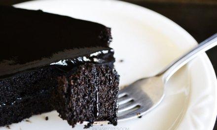 Spiced Dark Chocolate Cake