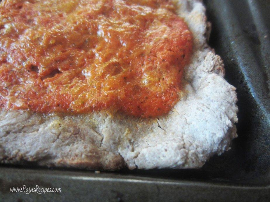 Gluten-Free Soaked Pizza Crust   RaiasRecipes.com