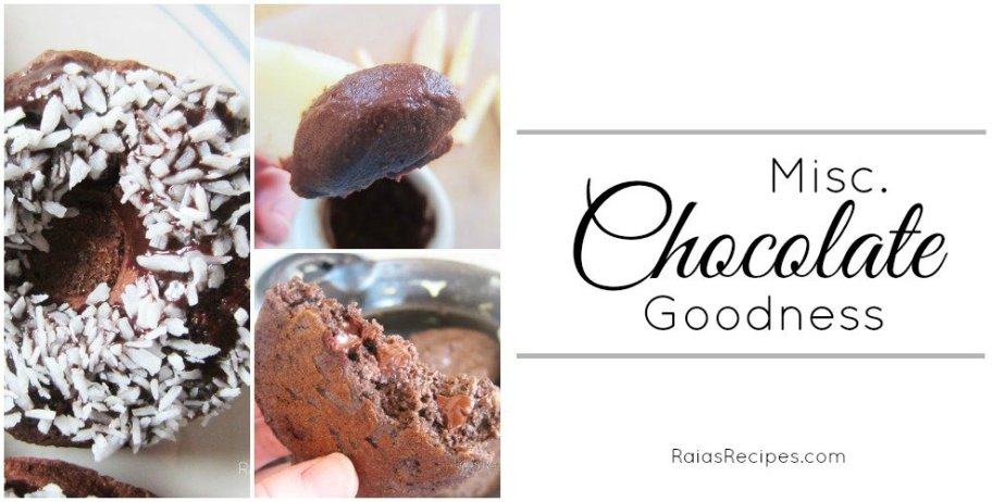 Misc. Chocolate Goodness Collage | RaiasRecipes.com
