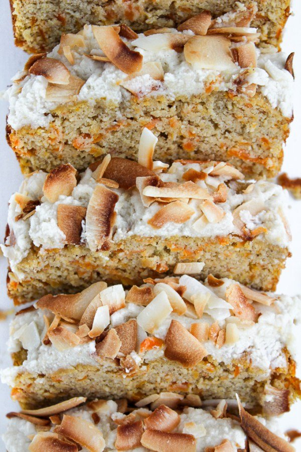 Paleo Carrot Cake from A Saucy Kitchen