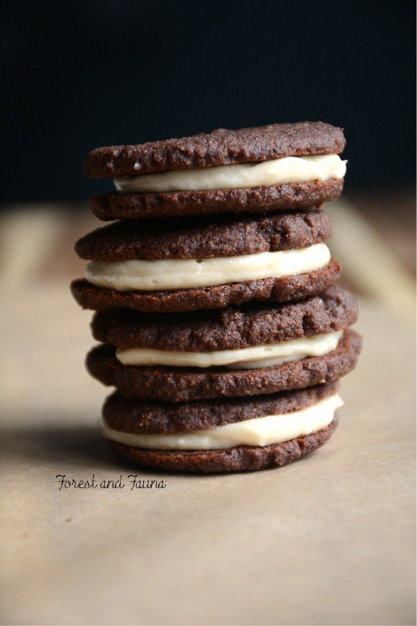Paleo Oreo Cookies from Forest & Fauna at Savoring Saturdays Gluten-Free Linky Party | RaiasRecipes.com