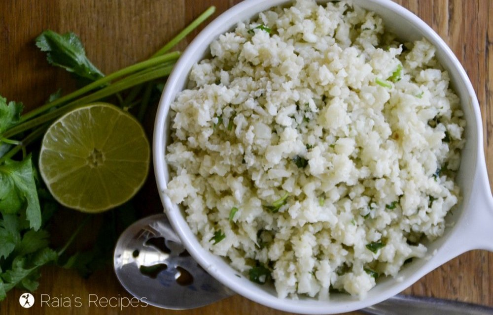 Chipotle-Style Cilantro Lime Cauli-Rice