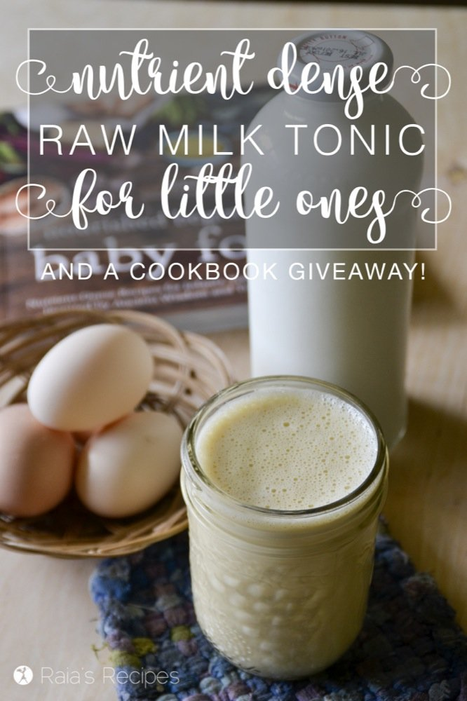Nourishing and delicious, this Nutrient-Dense Raw Milk Tonic is the perfect bedtime snack for little ones!