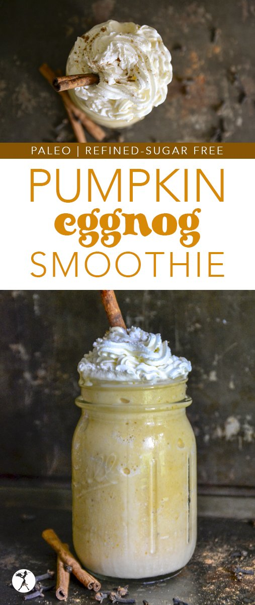 The perfect blend of good-for-youand delicious,thisHealthy Pumpkin Eggnog Smoothiea simple, yet nutritious drink that will be a real-food holiday pleaser for sure.