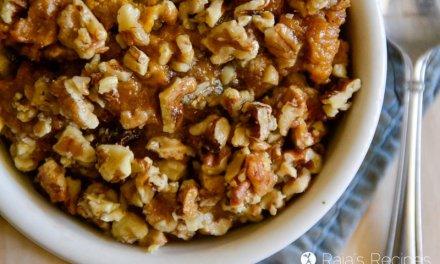 Healthy Maple Sweet Potato Casserole