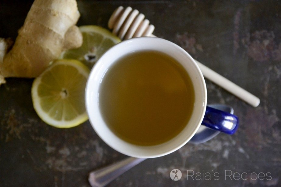 Honey Ginger Allergy Relief Tea (and 5 Tips for Minimizing Allergies)