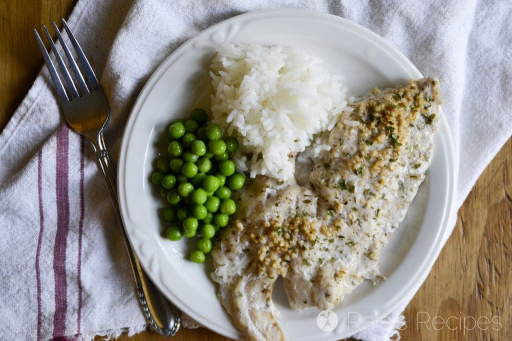 Bursting with nutrients and flavor, this Simple Herbed Red Drum will be sure to please your tummy and taste-buds.   RaiasRecipes.com