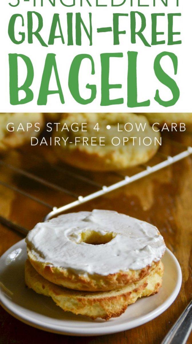 3-Ingredient Grain-Free Bagels #gapsdiet #primal #bagels #lowcarb #keto #realfood