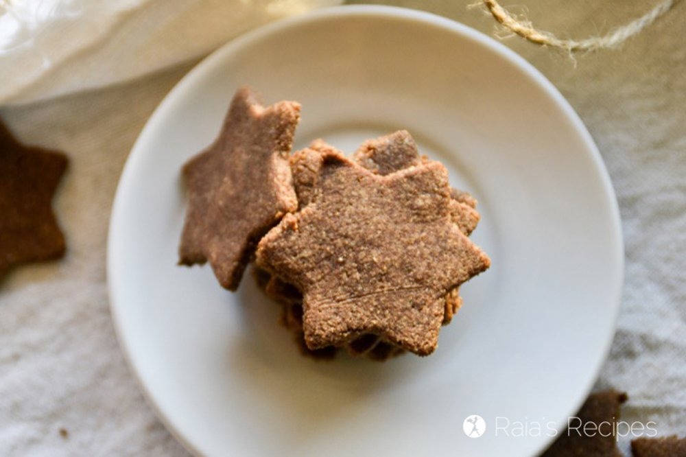 gingerbread cut out cookies top