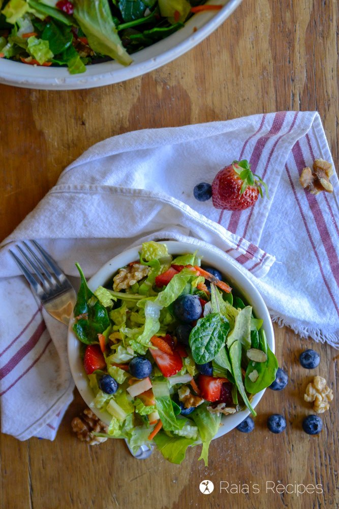 paleo Copy-Cat Chick-fil-A Market Fresh Salad 1